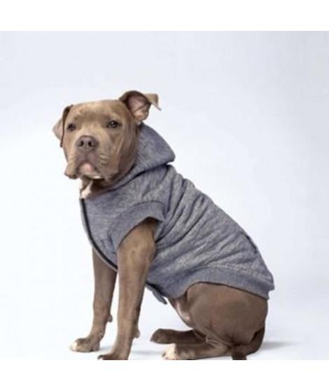 CANADA POOCH Manteau Cozy Caribou 16 - 8/11 kg - Gris - Pour chien