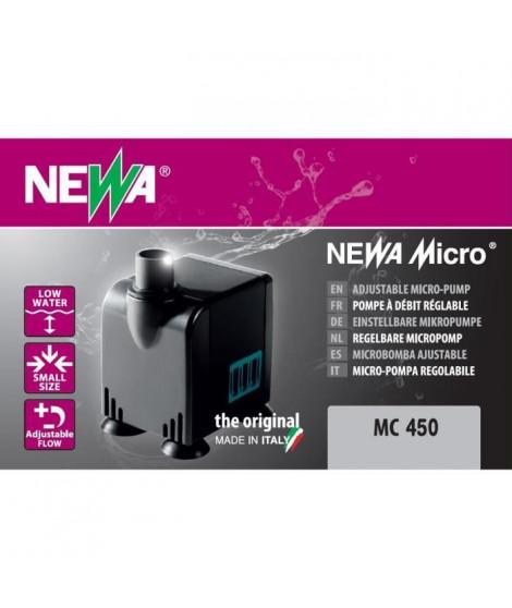 NEWA Pompe Micro-Jet 450 Mc450 - Pour aquarium
