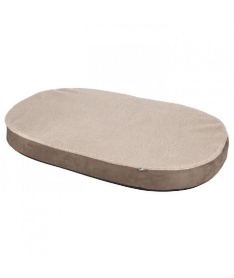 KERBL Matelas a mémoire de forme oval - 100 x 65 x 8 cm - Pour chien