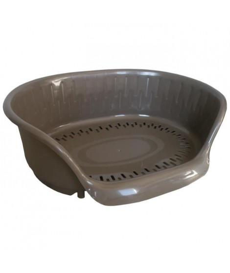 AIME Corbeille en plastique Apus Wenge 45x28x15cm - Pour chien