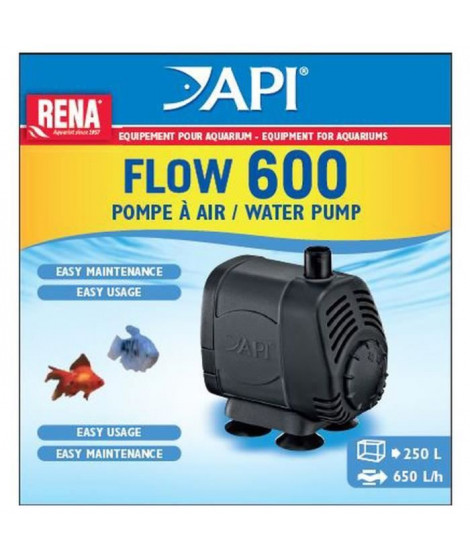 API Pompe a air New Flow 600 Rena - Pour aquarium