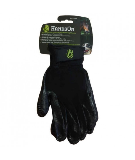HANDS'ON Gants de toilettage - Taille S