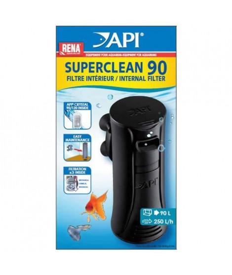 API Filtre intérieur New Superclean 90 Rena - Pour aquarium