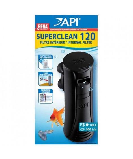 API Filtre intérieur New Superclean 120 Rena - Pour aquarium