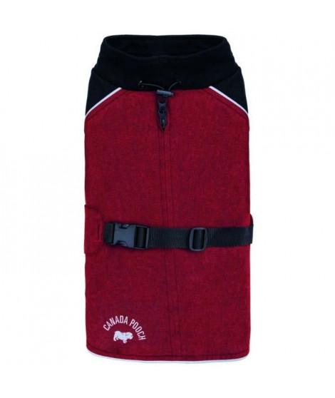 CANADA POOCH Manteau The Expedition Coat 12 - 4/6 kg - Rouge - Pour chien