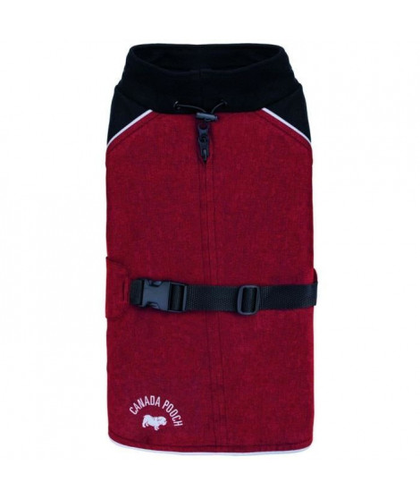 CANADA POOCH Manteau The Expedition Coat 16 - 8/11 kg - Rouge - Pour chien
