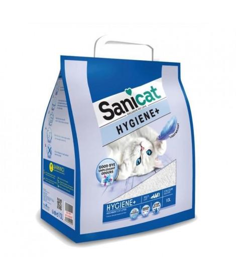 SANICAT Litiere Hygiene+ 10L - Pour chat