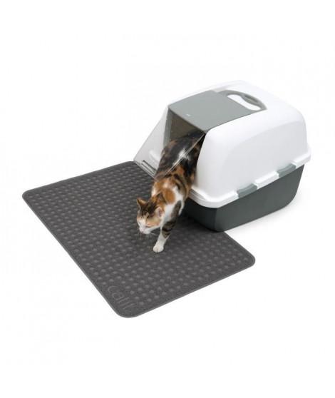 CAT IT Tapis pour bac a litiere - Grand format - 90 x 60 cm (35,5 x 23,5 po) - Pour chat