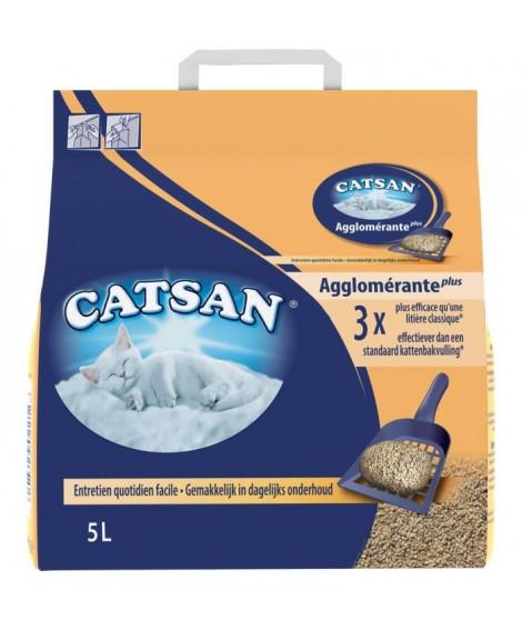 CATSAN Litiere minérale agglomérante 5 L - Pour chat