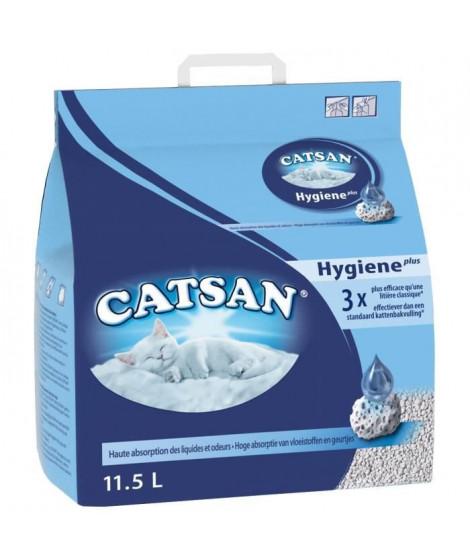 CATSAN Litiere Hygiene Plus - Pour chat - 11,5 L (x1)