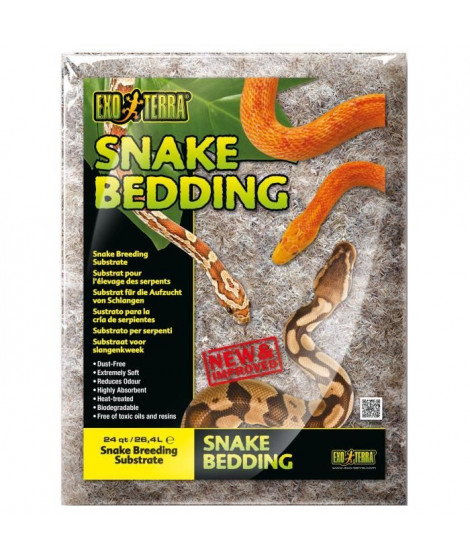 EXO TERRA Litiere Snake Bedding 26,4 L - Pour reptiles