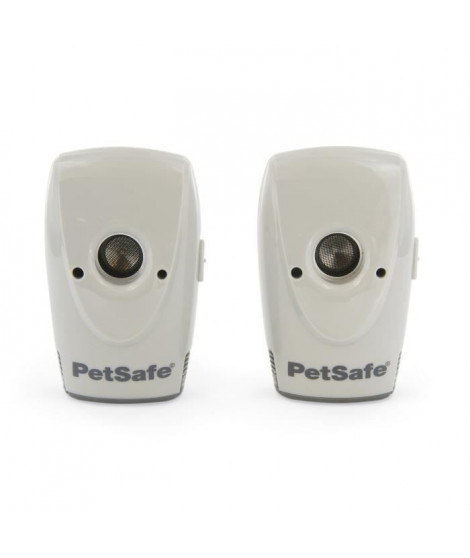 PETSAFE Systeme de contrôle des aboiements pour l'intérieur - 2 boitiers - Pour chien