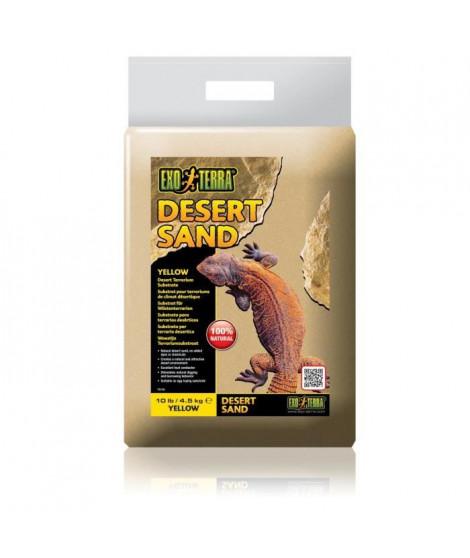 EXO TERRA Sable désert jaune 4,5 kg - Pour terrarium