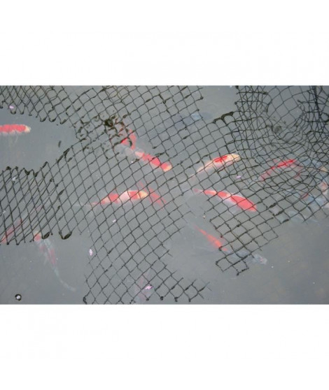 LAGUNA Filet protecteur pour bassin 4,5 x 6 m (15 x 20 pi) - Noir - Pour poisson
