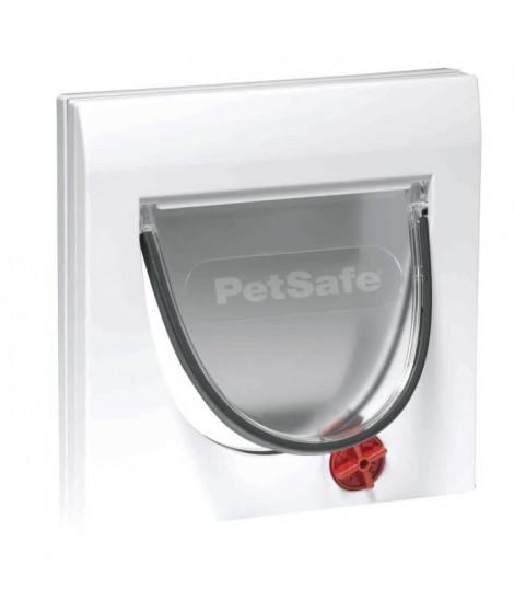 PETSAFE Porte Staywell classique 4 positions - Blanc - Pour chat