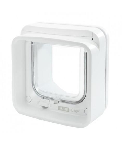 SUREFLAP Chatiere Connect a puce électronique - iDSCFWT - Blanc