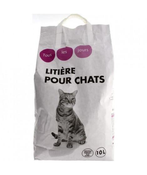 TOUS LES JOURS - Litiere  - Pour chat - 10L