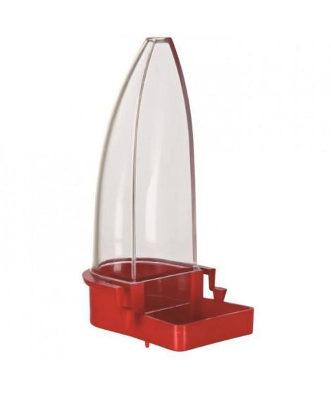 TRIXIE Distributeur eau et nourriture en plastique - 12cm - Pour oiseau
