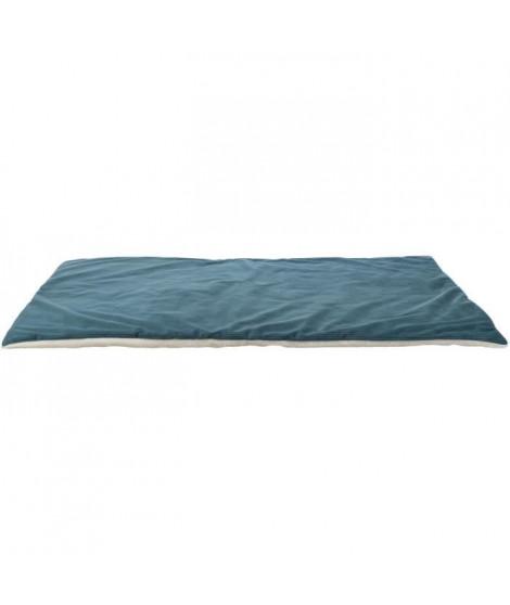 TRIXIE Couverture Lupo - 100 × 70 cm - Pétrole et creme - Pour chien