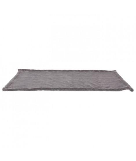 Set douillet - Polyester - 75 × 50 cm - Gris foncé