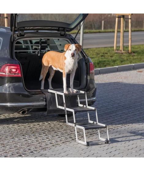 TRIXIE Escalier repliable Petwalk - Aluminium - Pour chien