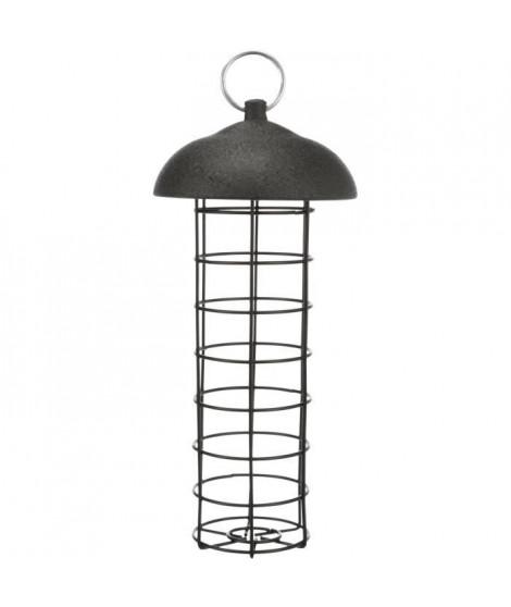 TRIXIE Mangeoire boule de graisse - ø 10 × 21 cm - Noir - Pour oiseau