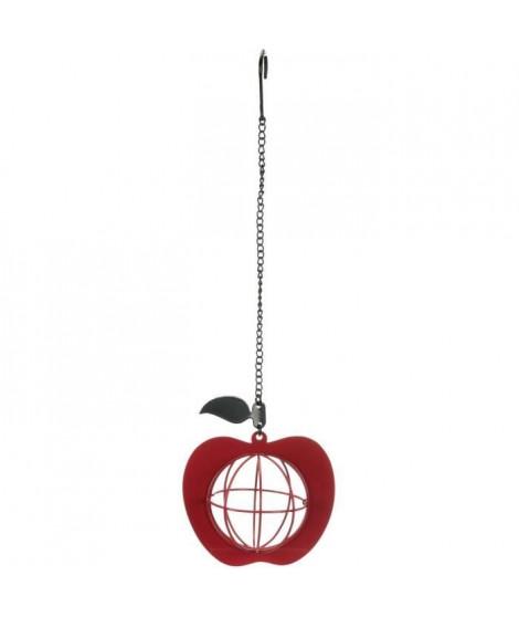 TRIXIE Mangeoire boule de graisse Pomme - 12 × 35 cm - Pour oiseau