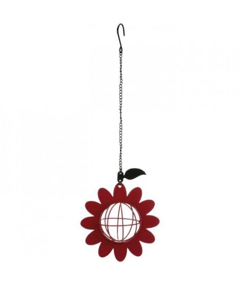 TRIXIE Mangeoire boule de graisse Fleur - 14 × 42 cm - Pour oiseau