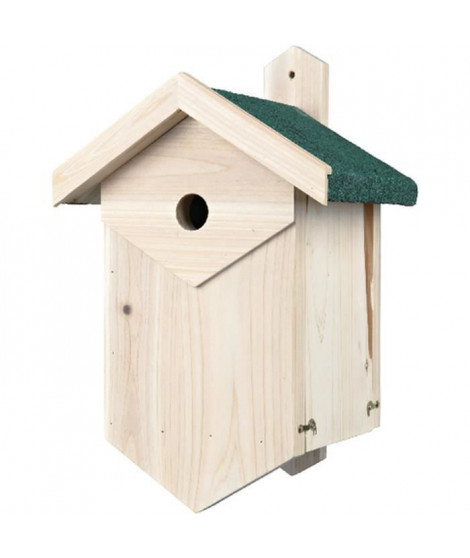 TRIXIE Nichoir nichant dans les cavités, 25 × 40 × 22 cm et ø 3,4 cm - Pour oiseau
