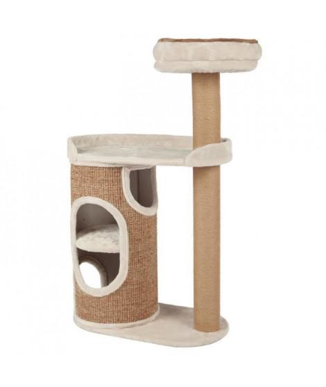 TRIXIE Arbre a chat Falco - Gris clair et brun - Pour chat