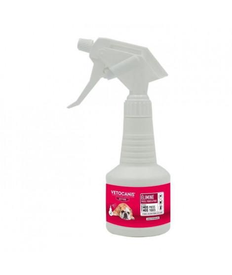 VETOSOIN Spray antiparasitaire, anti-puces et anti-tiques au Fipronil - 250 ml - Pour chat et chien