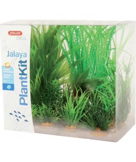 ZOLUX Kit de 6 plantes artificielles Jalaya N1 - Pour aquarium