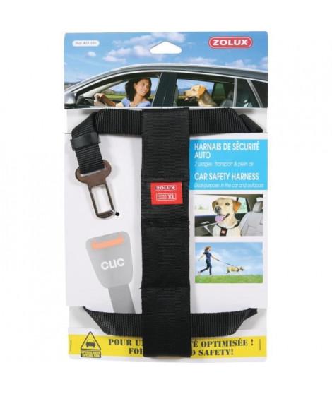 ZOLUX Harnais de sécurité avec attache pour véhicule XL - Pour chien