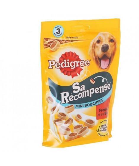 PEDIGREE Sa Récompense Mini Bouchées au boeuf et fromage - Pour chien - 140 g (x6)