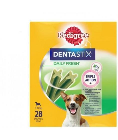 PEDIGREE Dentastix Fresh - Bâtonnets a mâcher - Pour petit chien - x28 (x4)