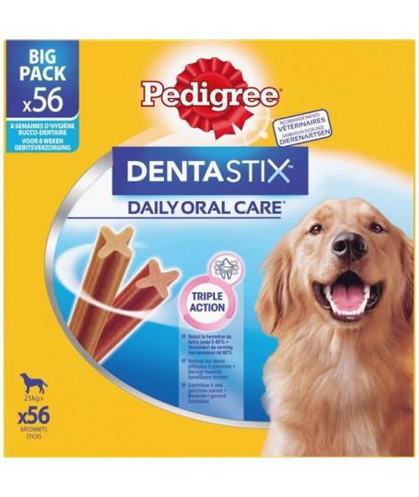 PEDIGREE Dentastix Bâtonnets hygiene bucco-dentaire - Pour grand chien - 8x270 g