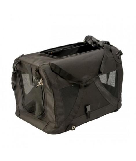 DUVO Sac de voyage Click & Go L - 81x59x59 cm - Noir - Pour chien