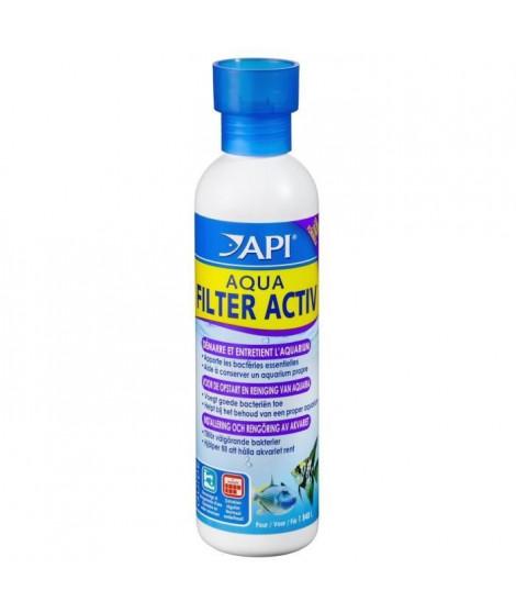 API Démarrage et entretien Aqua Filter Activ 237ml - Pour aquarium