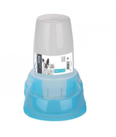 MPETS Distributeur d'eau WATER DISPENSER - Pour chat et chien - 1500ml - Bleu