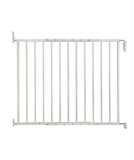 VADIGRAN Barriere d'intérieur Tom - H 73 cm - Blanc - Pour chiens et chats