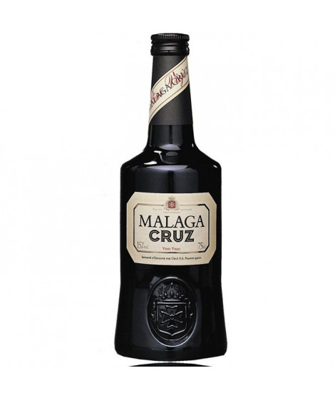 Malaga Cruz vin vieux Espagnol