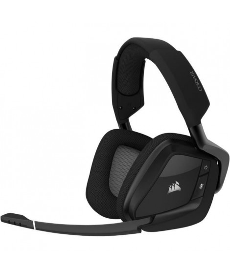 CORSAIR Casque Gamer VOID RGB ELITE - Sans Fil - Carbone (CA-9011201-EU)
