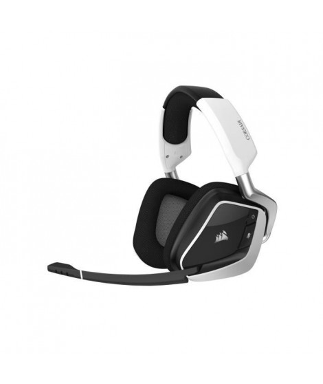 CORSAIR Casque Gamer VOID RGB ELITE - Sans Fil - Blanc (CA-9011202-EU)