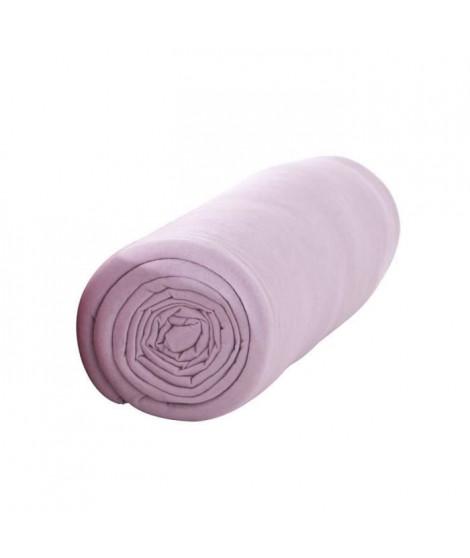 TODAY Drap housse 100% coton - 90 x190 cm - Poudre de lila
