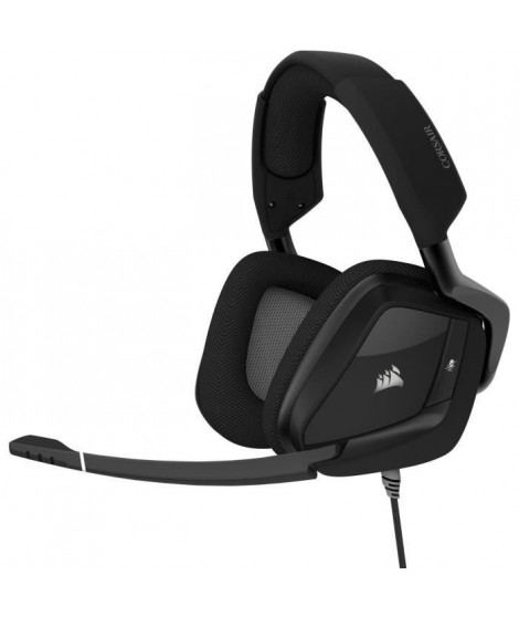 CORSAIR Casque Gamer VOID RGB ELITE USB - Filaire - Carbone (CA-9011203-EU)