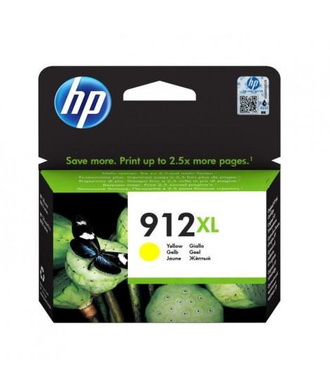 HP Cartouche jet d'encre 912XL - Jaune - Jet d'encre - Rendement élevé - 825 pages