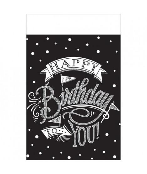 AMSCAN Nappe plastifiée Hooray It's Your Birthday 137 x 259 cm