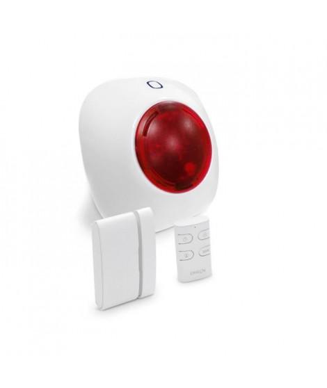 CHACON Alarme maison sans fil Plug and Play avec sirene enfichable