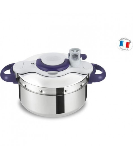 SEB CLIPSO MINUT PERFECT Autocuiseur P4620600 4,5L violet Tous feux dont induction