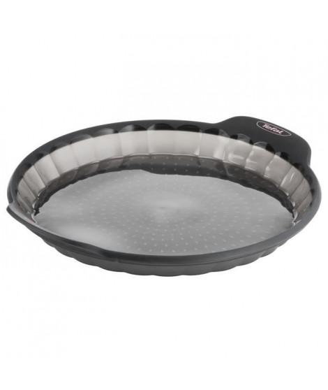 TEFAL Moule a tarte Crispybake - Silicone - 28 cm